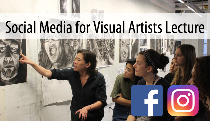 Social Media for Visual Artists, 90-minute Lecture, with Professor, Clara Lieu (Adults 17+)