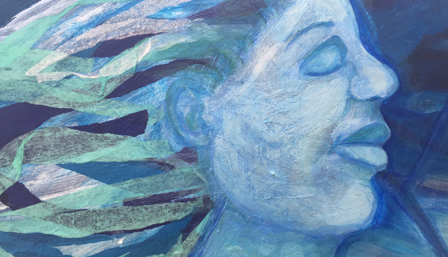 Mixed Media Painting - Fun with Faces w/Sandy Coleman (Adults 17+)