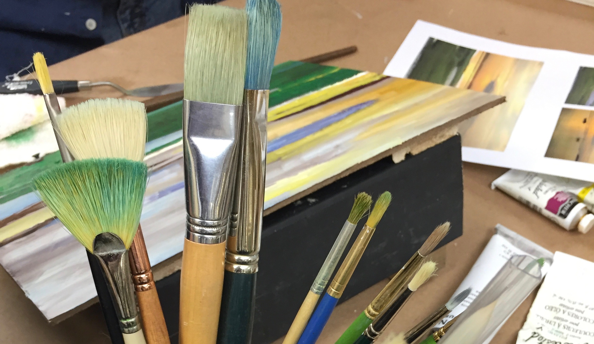 Intermediate & Advanced Painting w/Lisa Granata (Adults 17+)
