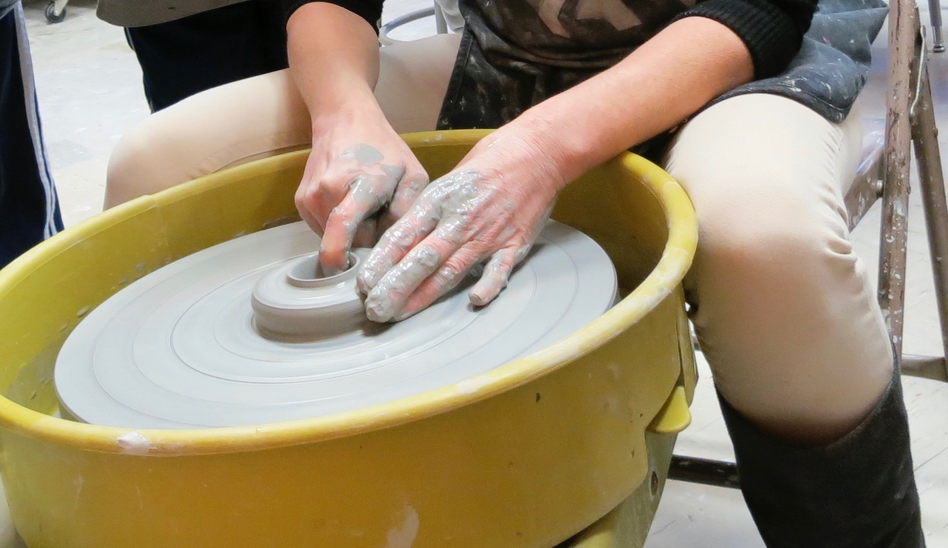 Play with Clay: Intro to Hand-building & the Pottery Wheel w/Sandra Barrett (Adults 17+)