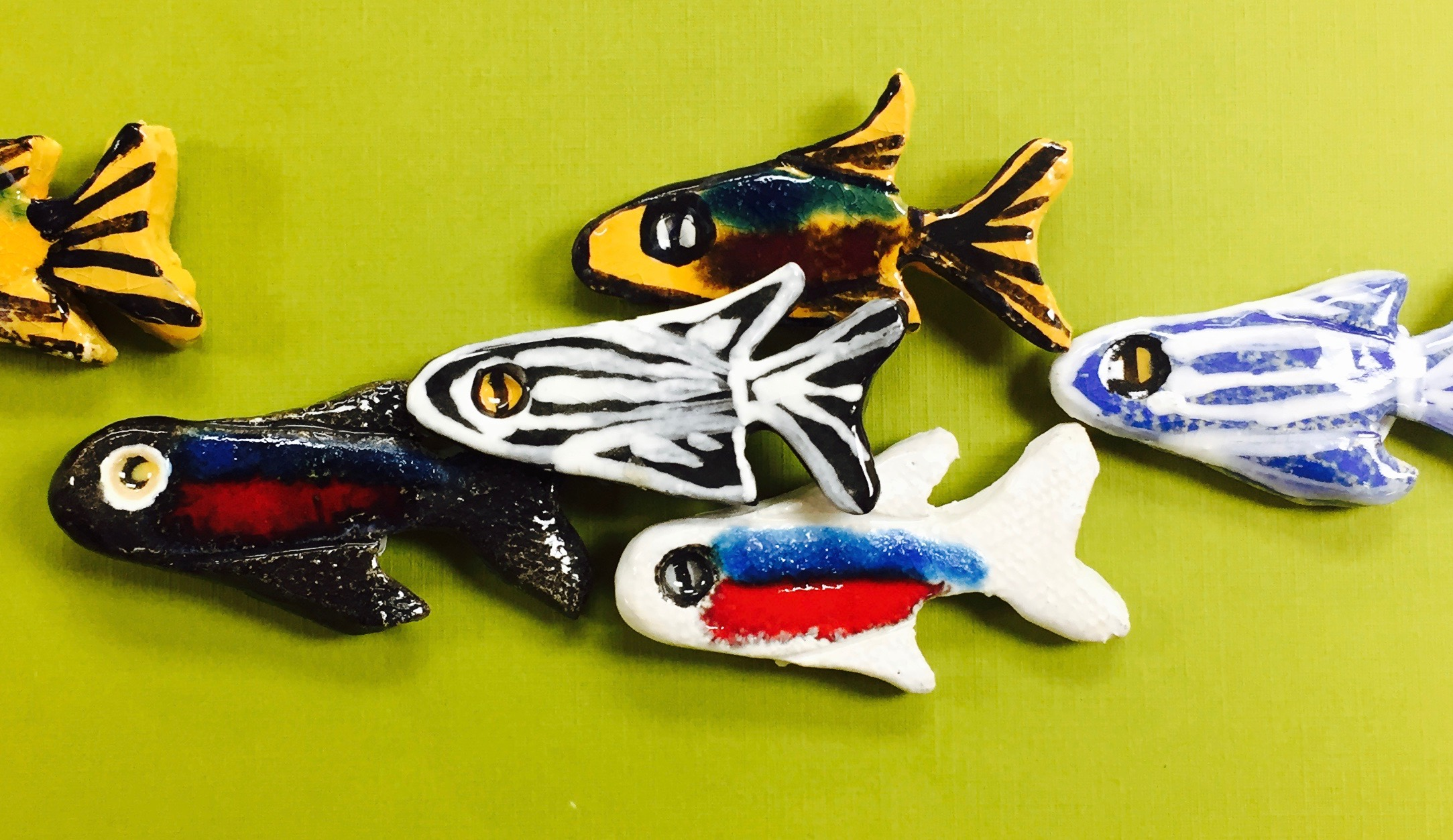 Fish, Frogs and Turtles in Clay w/Sandra Barrett (Ages 5-8)