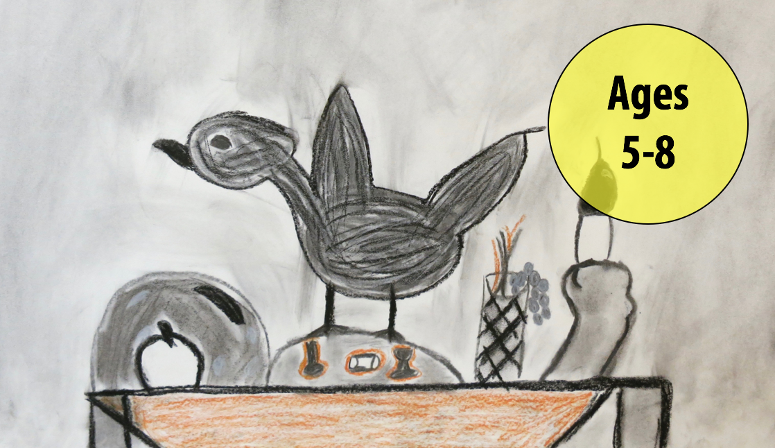 Summer Art Week 1: July 2-6, Drawing/Printmaking (Ages 5-8)