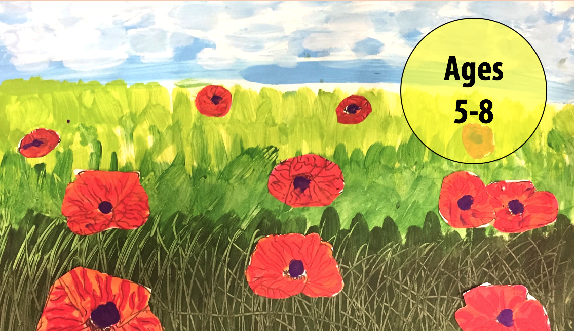 Summer Art Week 2: July 9-13, Painting/Collage (Ages 5-8)