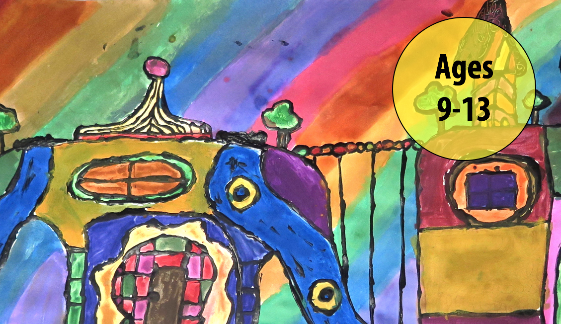 Summer Art Week 2: July 9-13, Painting/Collage (Ages 9-13)