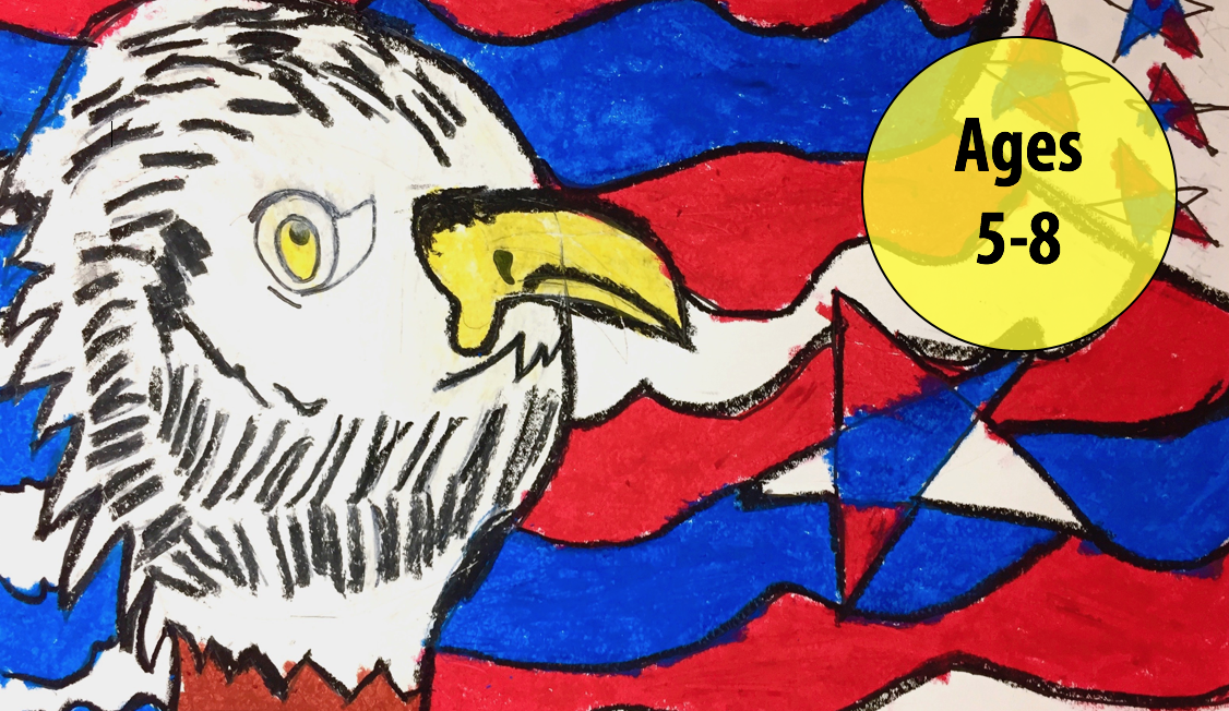 Summer Art Week 3: July 16-20, Oil Pastels/Cartooning (Ages 5-8)