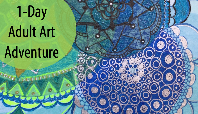 "Inspired By…""Three"" An Art Appreciation and Art-making Adventure w/Artists Sandy Coleman & Abby Rovaldi (Adults 17+)"