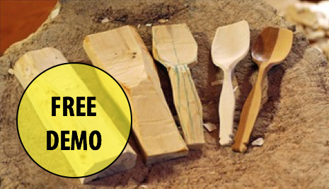 NEW! FREE Artist Demonstration: Introduction to Spoon Carving w/John P. Pietrella (Adults 17+)