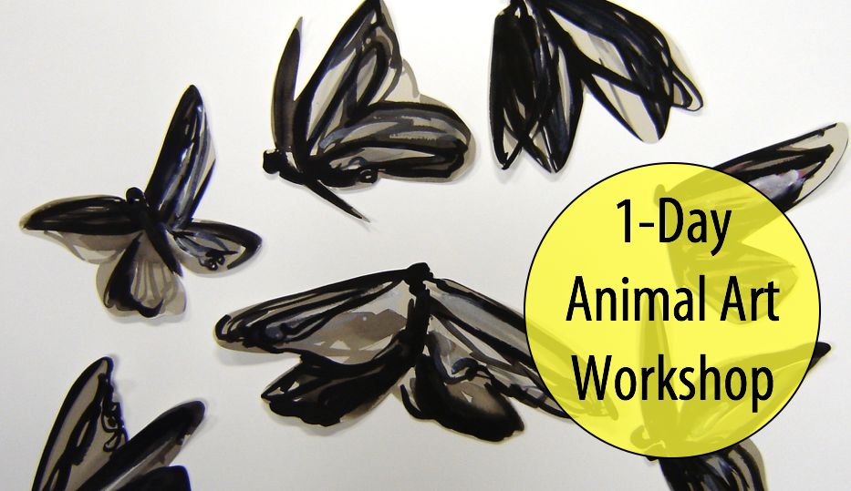 NEW! Winged Things: Animal Adventures in Art w/Abby Rovaldi, 1-Day Workshop (Ages 8+)