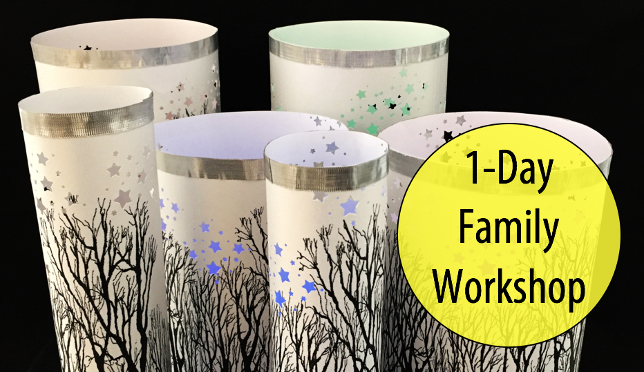 NEW! Magical Winter Woods - Holiday Lanterns w/Artist, Margo Lemieux (Adult & Child; Age 8+)