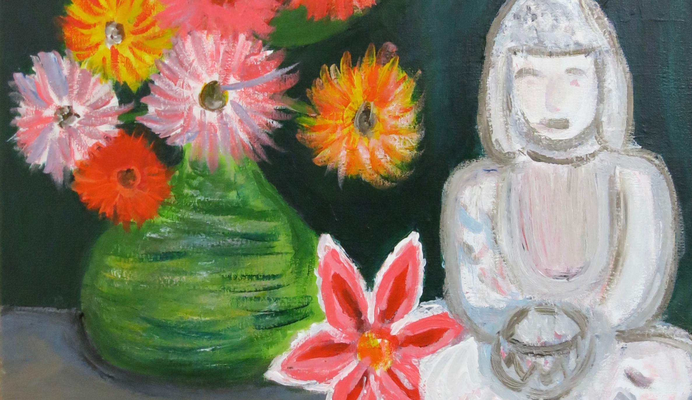 NEW! Beginner's Acrylic Painting: Make Your Mark! w/Lisa Granata (Adults 17+)