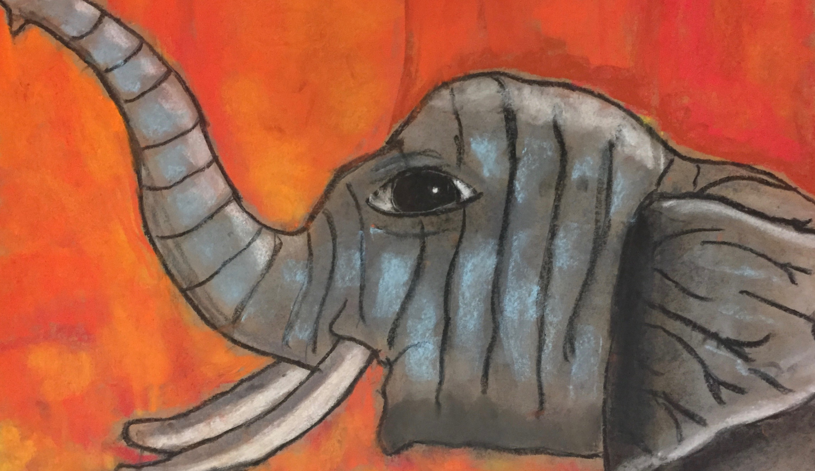 NEW! Colorful Chalk, Charcoals & More! Kids Drawing w/Meredith Passey (Ages 5-8)