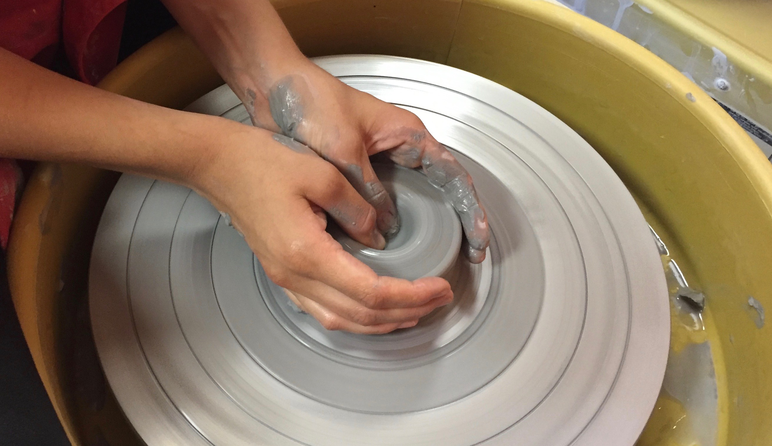 NEW! Sensational Shapes: Mastering the Potter's Wheel w/Tracy Korneffel (Ages 9-13)