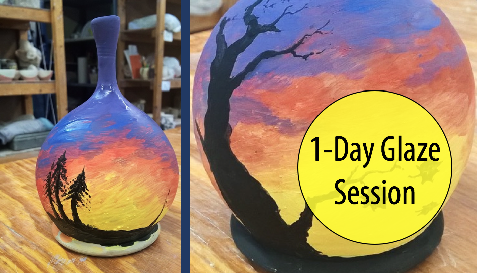 NEW! Glaze Your Own Tree Landscape w/Warren Joseph, 1-Day Workshop (Adults 17+)