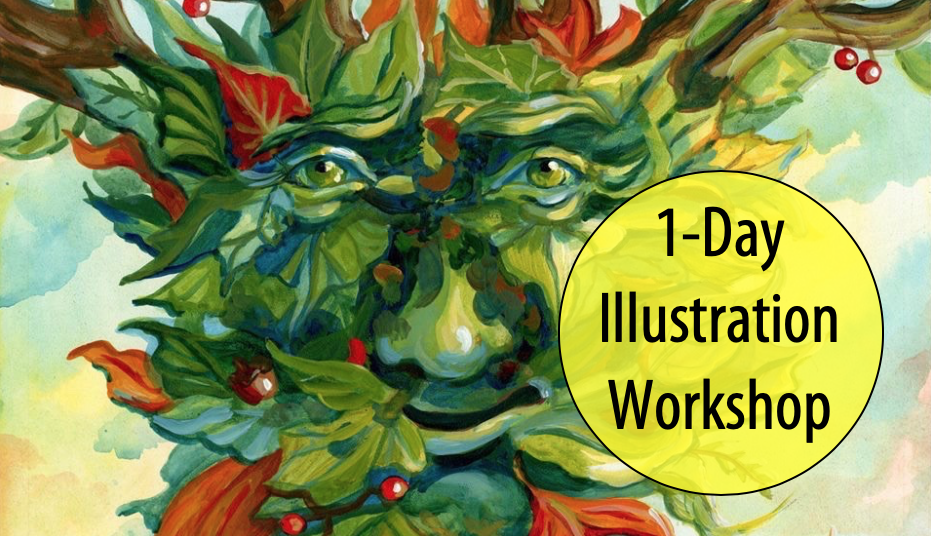 NEW! Illustrative Eyes & Tree Creatures w/Special Visiting Artist, Margo Lemieux (Ages 12+)