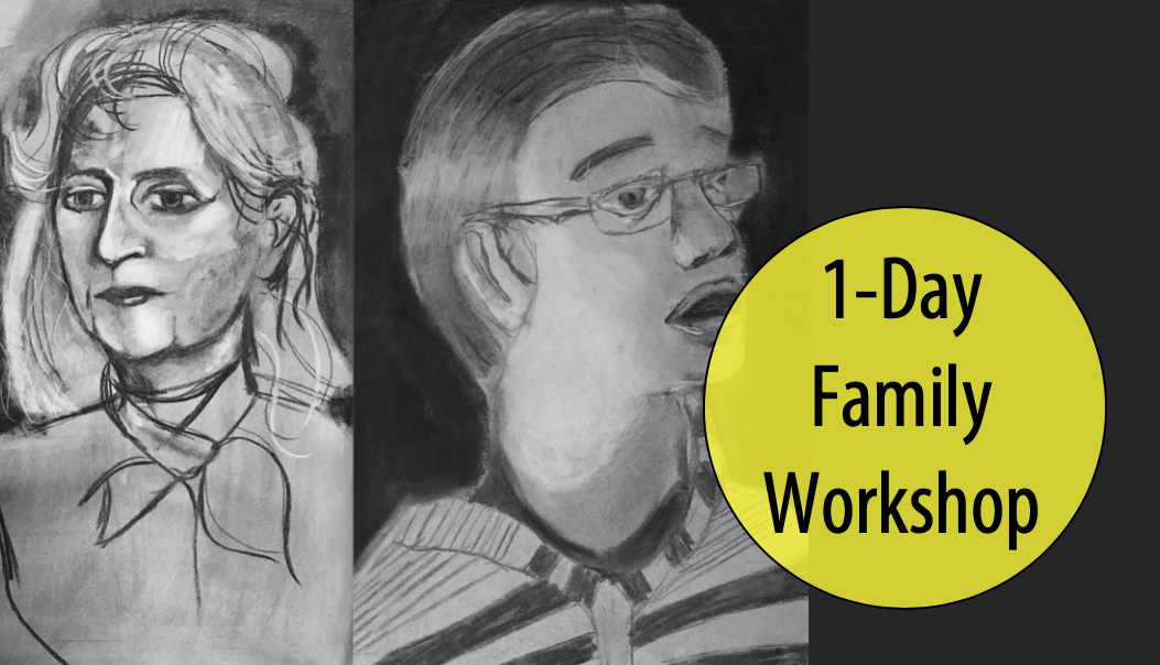 NEW! Face To Face - Adult & Child Drawing Studio, 1-Day Workshop w/Meredith Passey (Ages 5+)