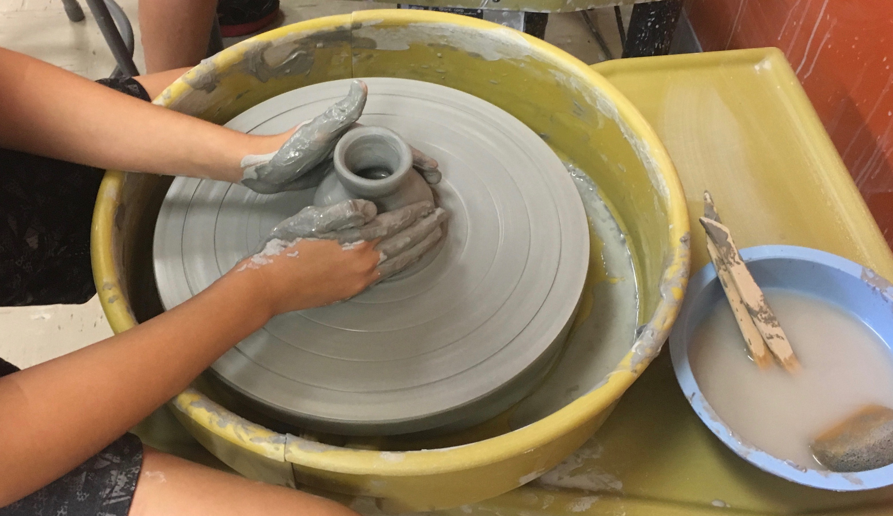 NEW! Cups, Coin Banks & Cylinders: Mastering the Potter's Wheel w/Tracy Korneffel (Ages 9-13)