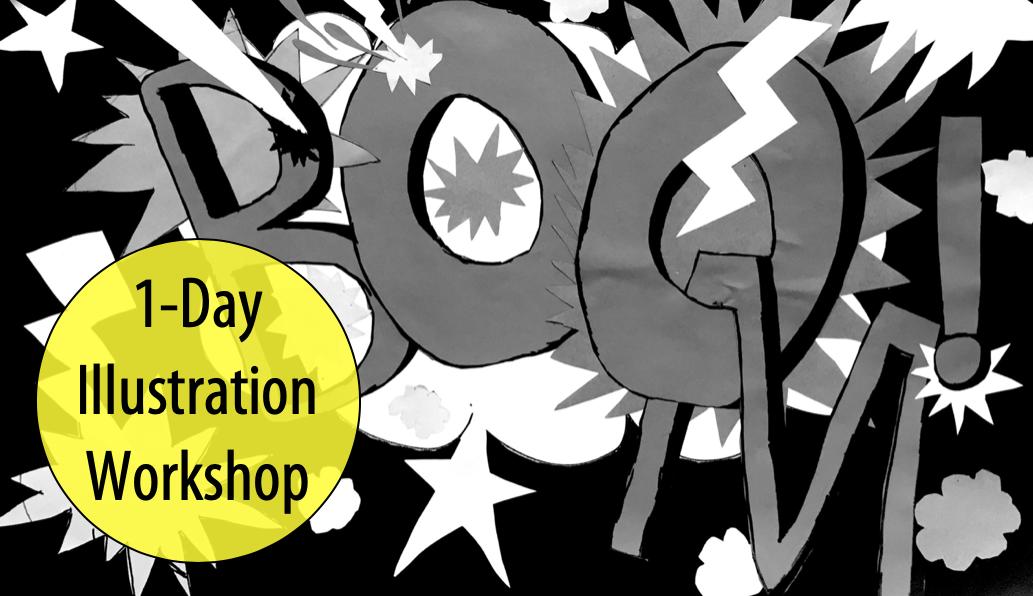 NEW! Classic Cartoons w/Visiting Illustrator, Amanda Sharples, 1-Day Workshop (Ages 12+)