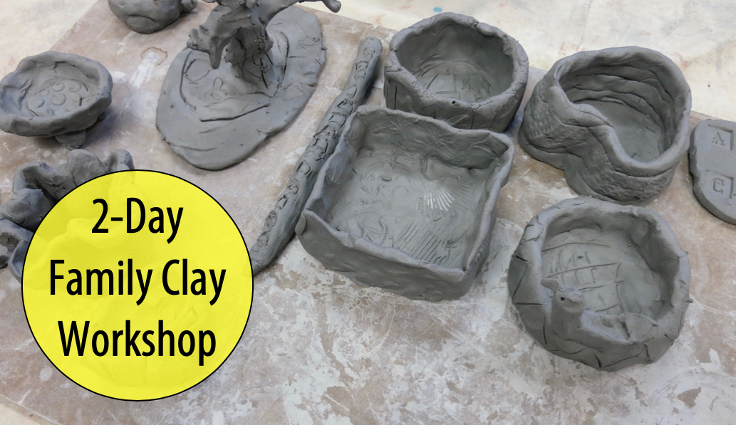 Adult & Child Clay Studio w/Tracy Korneffel, 2-Day Workshop (Ages 5+)