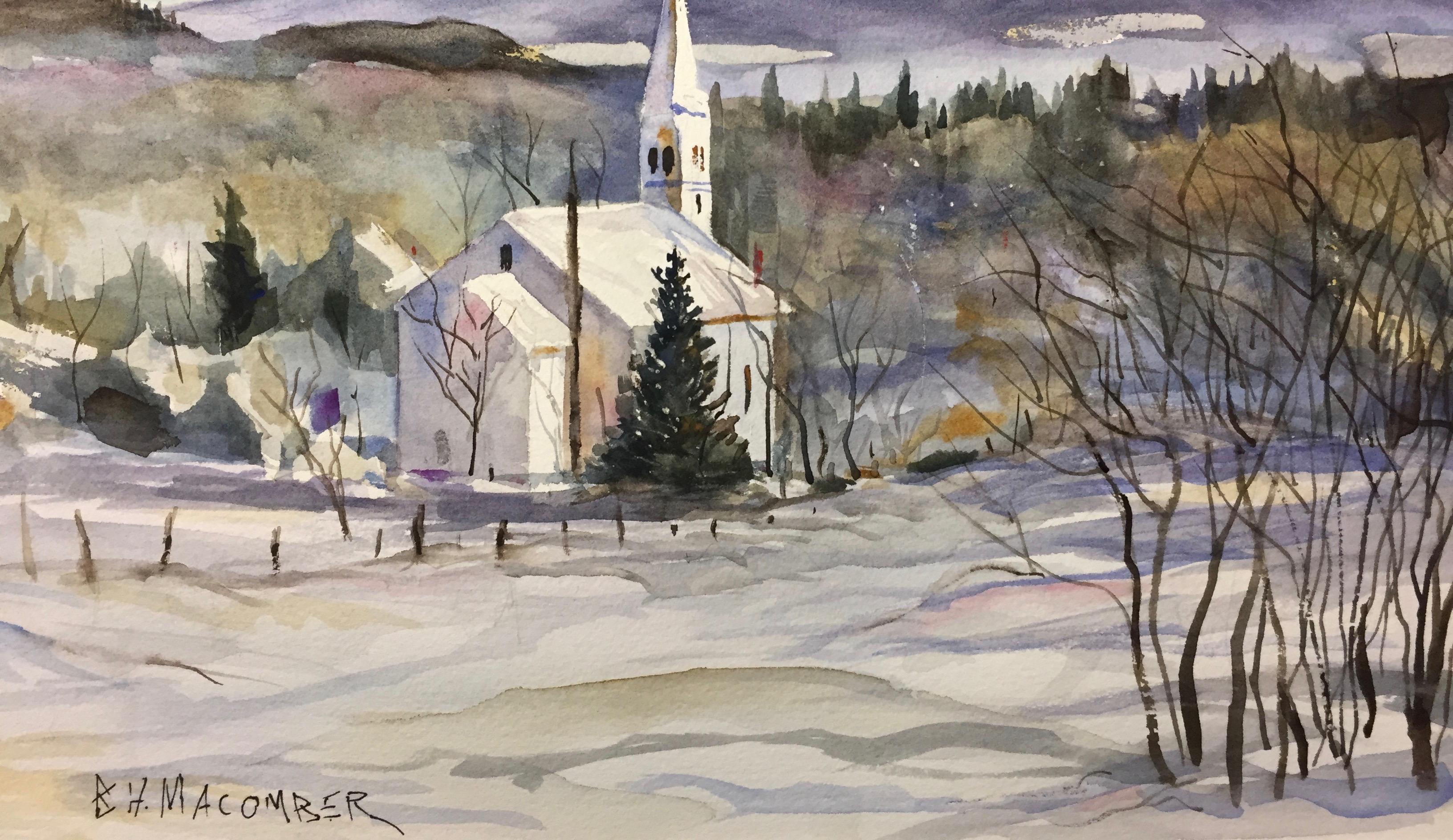 Wondrous Watercolors w/Ben Macomber (Adults 18+)