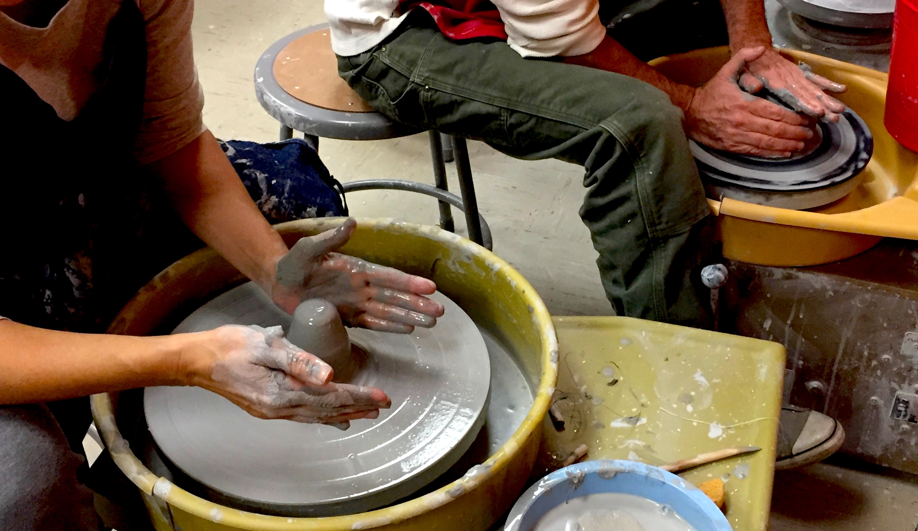 Playful Pottery - Having Fun with Hand-building & Wheel-throwing w/Tracy Korneffel (Adults 18+)