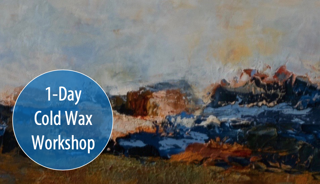 NEW! Introduction to Cold Wax w/Artist, Rina Naik, 1-Day Workshop (Adults & Teens 17+)
