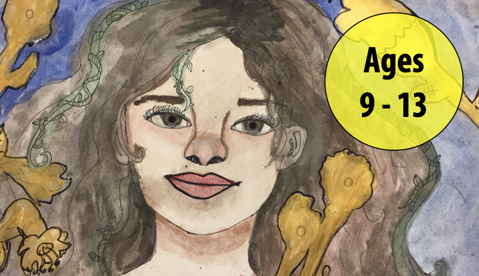 Summer Art Week 2: July 6-10, Painting/Collage (Ages 9-13)