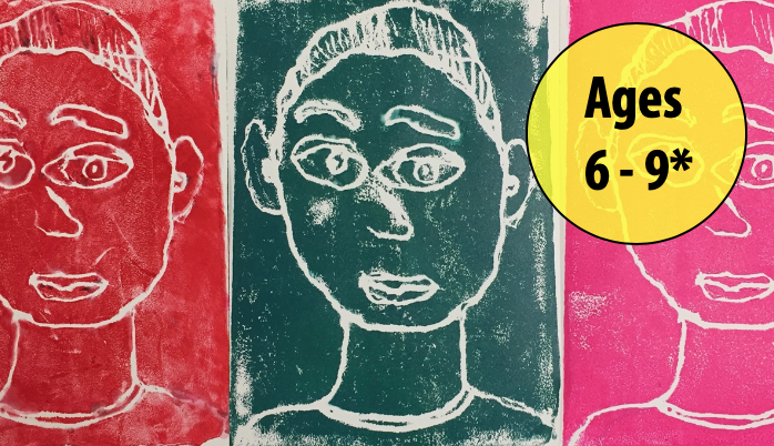 Summer Art Week 6: August 3-7, Printmaking/Painting (Ages 5-8)