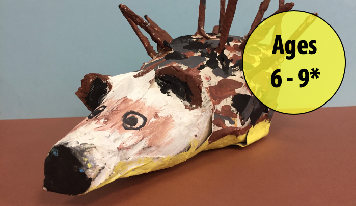 Summer Art Week 7: August 10-14, Sculpture Non-clay/Chalk Pastels (Ages 6-9*)