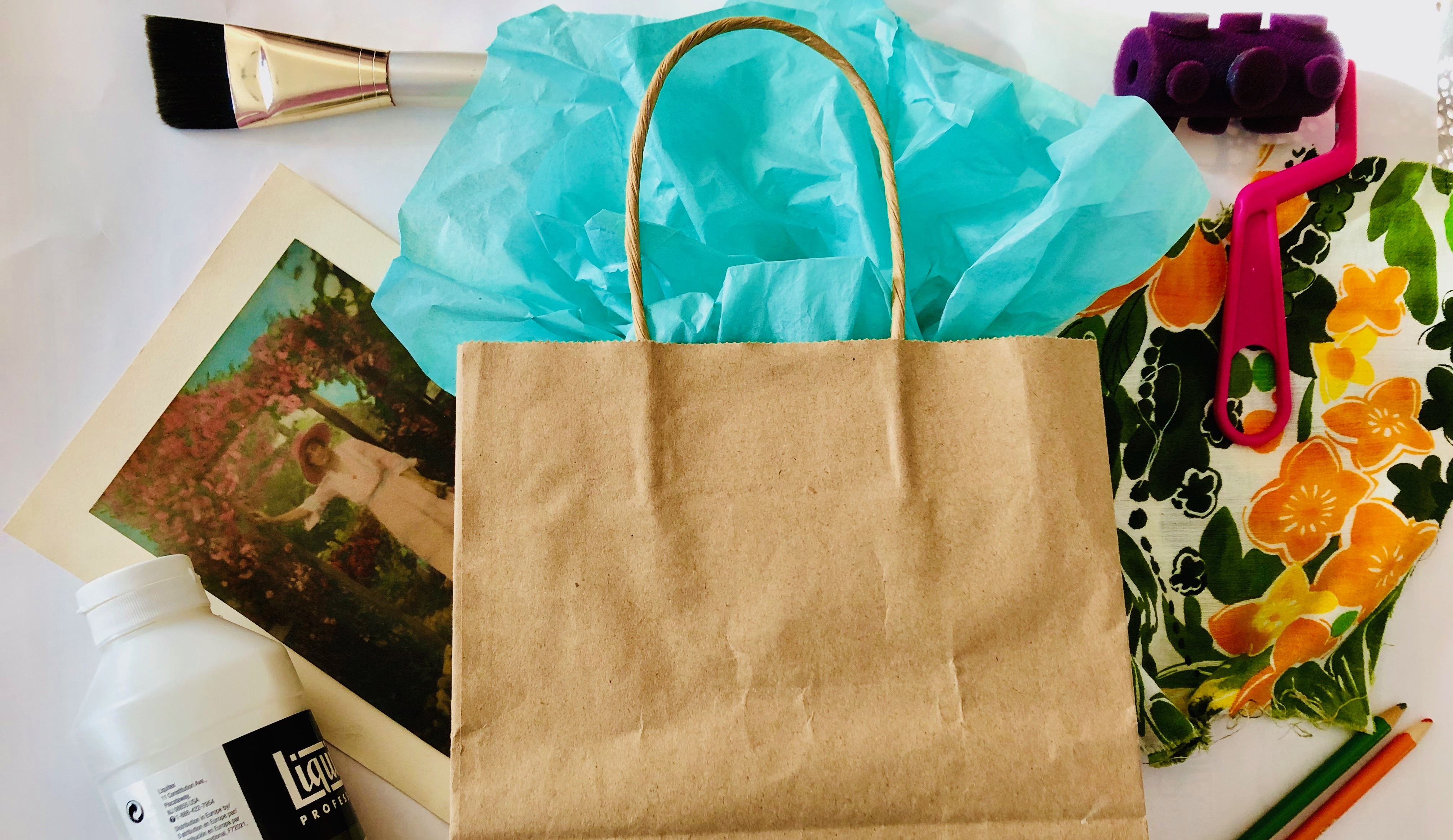 NEW! Surprise, It's Art: Creating From A Mixed-media Mystery Bag w/Sandy Coleman (Adults 18+)