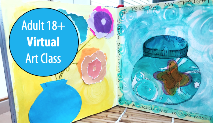 The Art of Journaling w/Sandy Coleman For Adults 18+ (Virtual)