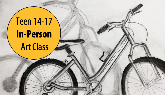 NEW! Drawing Your Vision - Teen Art Studio w/Lisa Granata For Ages 14-17 (In-Person)