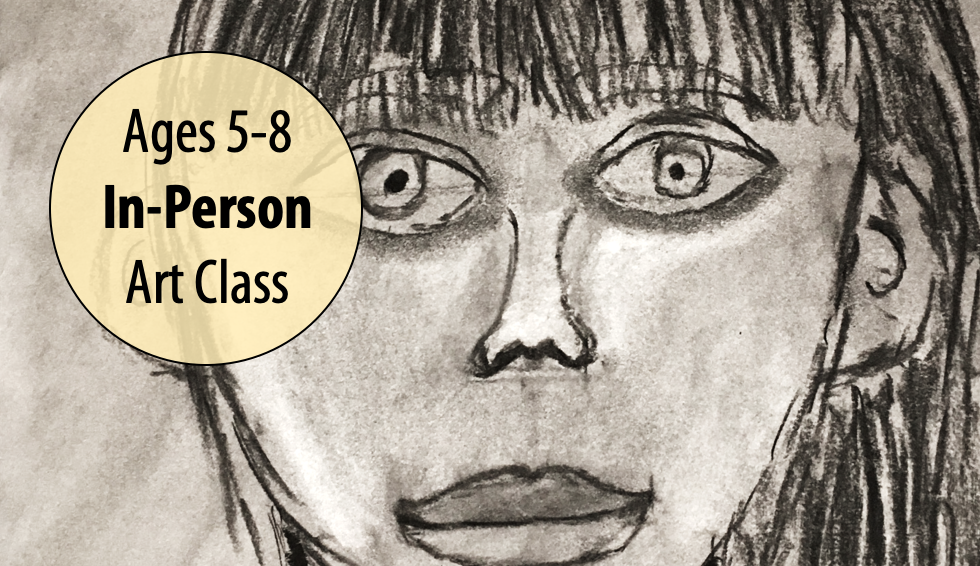 NEW! Me, Myself & Art – Kids Drawing w/Sandra Barrett For Ages 5-8 (In-person)