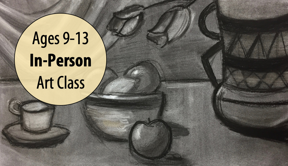 NEW! Drawing Fundamentals & Figures w/Lisa Granata For Ages 9-13 (In-person)