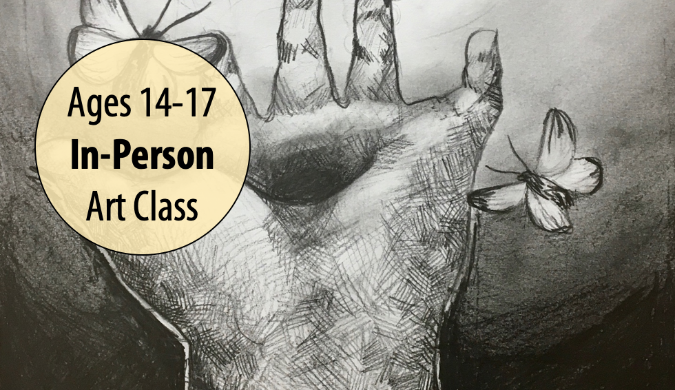 NEW! Mastering the Mark – Teen Art Studio w/Lisa Granata For Ages 14-17 (In-person)