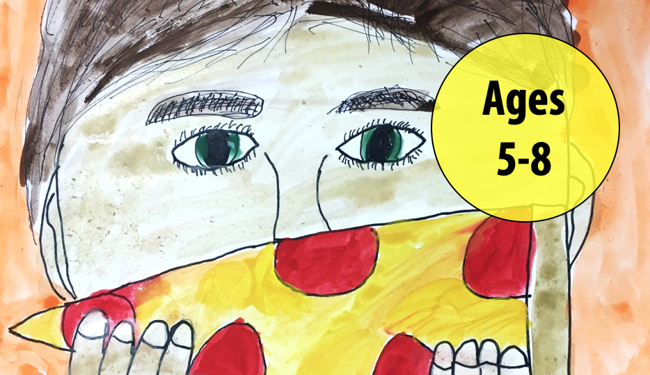 Summer Art Week 2: July 5-9, Painting/Collage For Ages 5-8 (In-person)