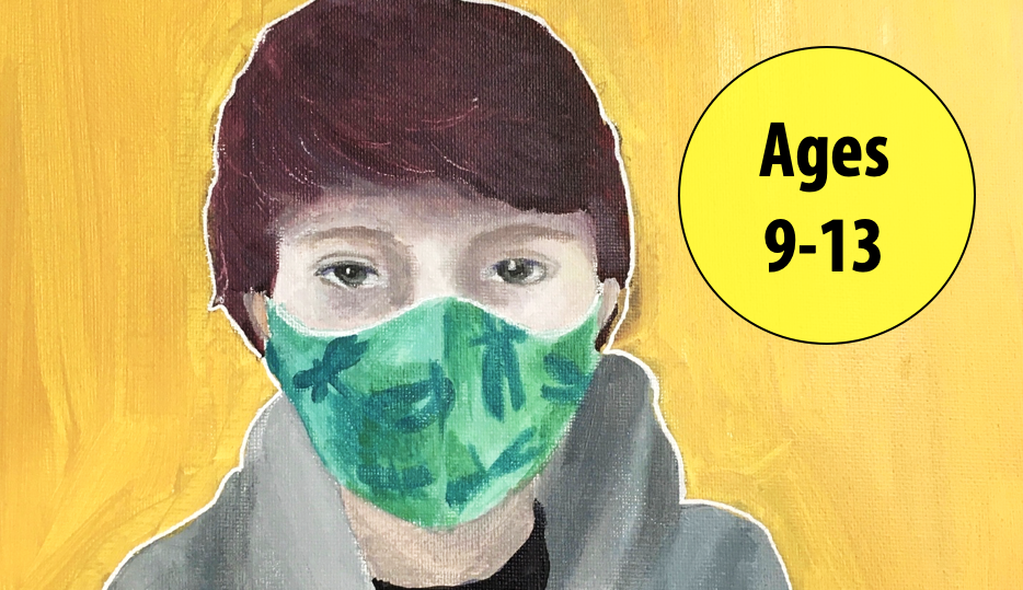 Summer Art Week 2: July 5-9, Painting/Collage For Ages 9-13 (In-person)