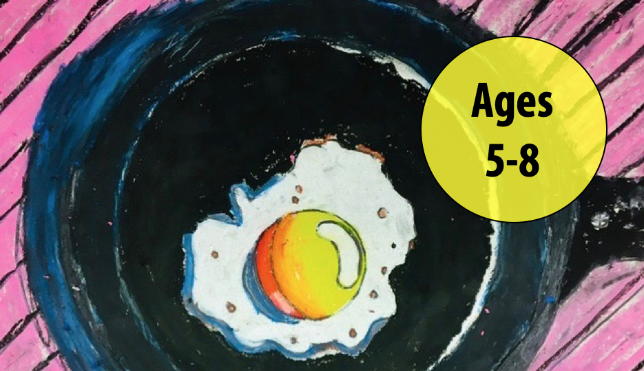 Summer Art Week 4: July 19-23, Oil Pastels/Cartooning For Ages 5-8 (In-person)