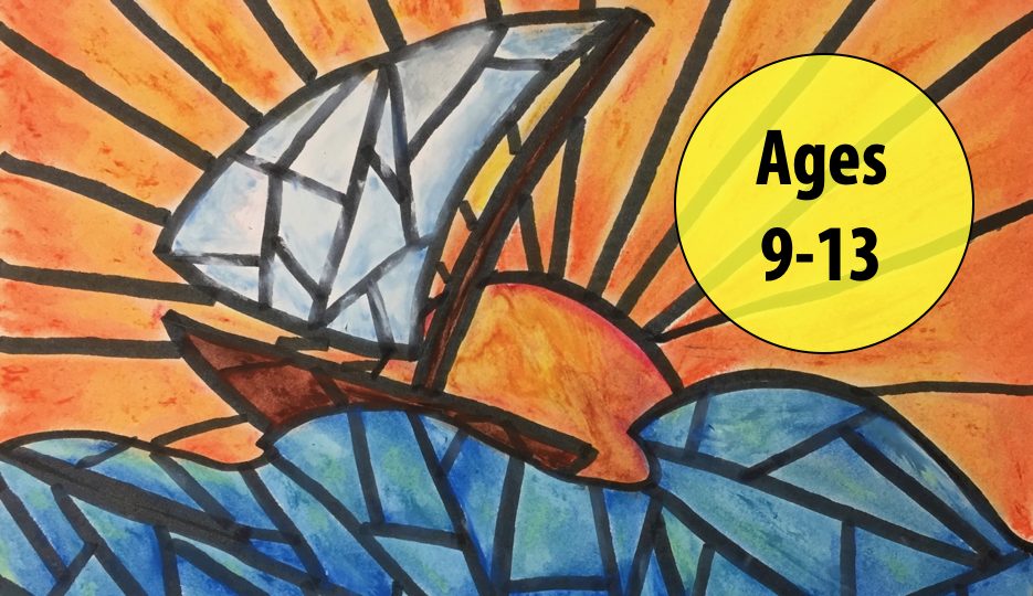 Summer Art Week 4: July 19-23, Oil Pastels/Cartooning For Ages 9-13 (In-person)