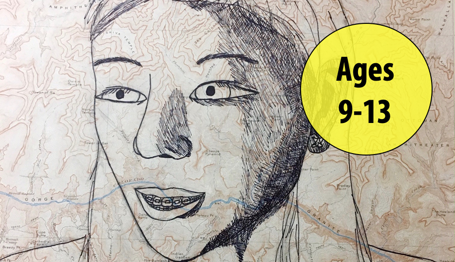Summer Art Week 5: July 26-30, Drawing/Collage For Ages 9-13 (In-person)