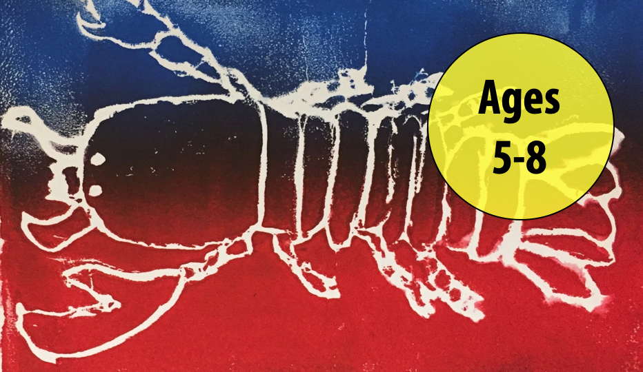 Summer Art Week 6: August 2-6, Printmaking/Painting For Ages 5-8 (In-person)