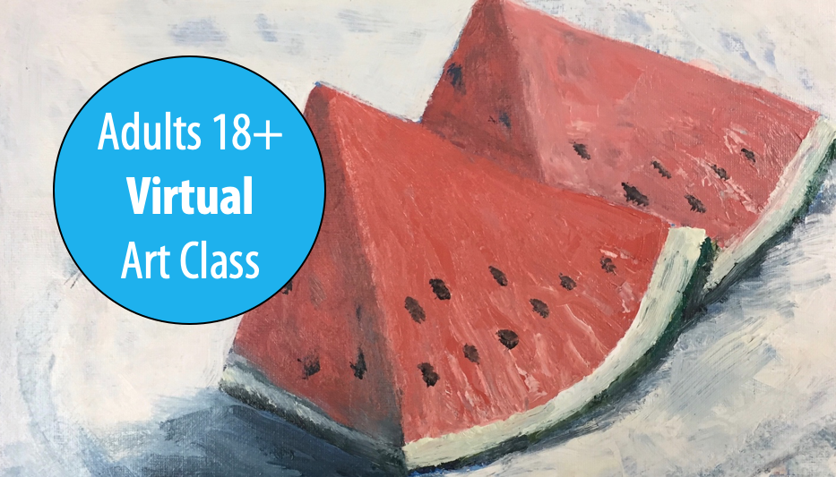 Painting with Color w/Susan Bauer For Adults 18+ (Virtual)