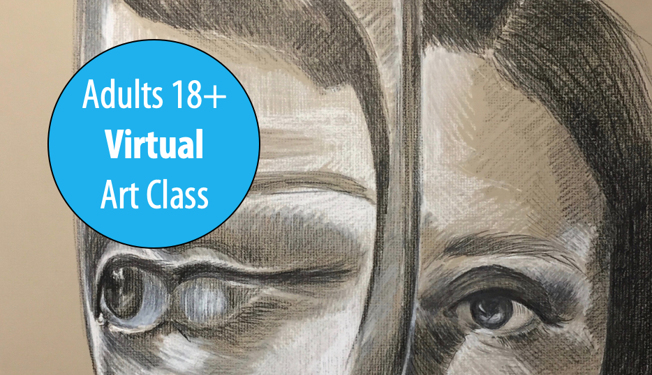 NEW! Experimental Drawing: Works on Paper w/Lisa Granata For Adults 18+ (Virtual)