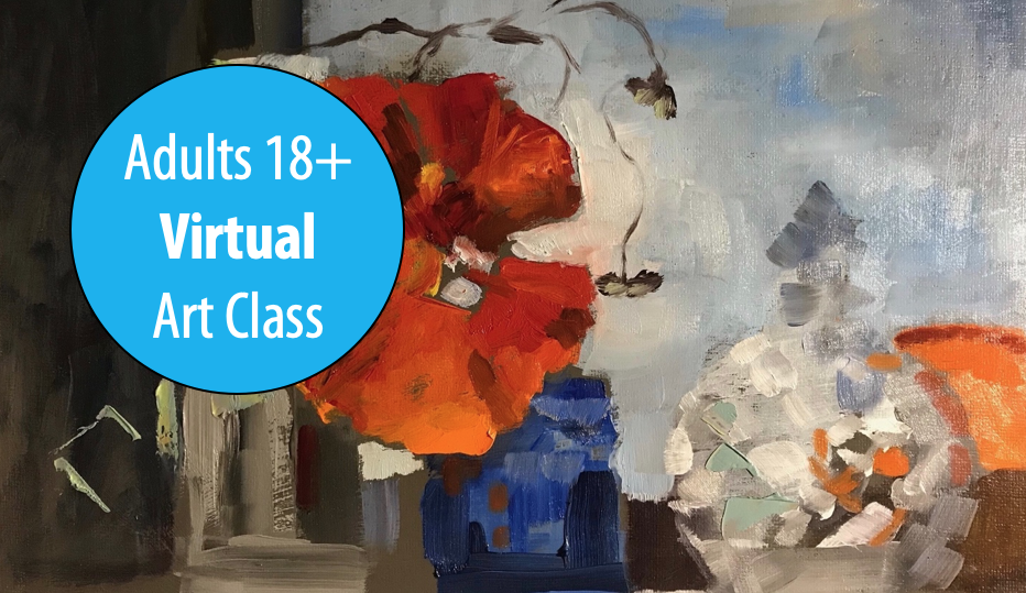 Intermediate & Advanced Painting w/Lisa Granata For Adults 18+ (Virtual)
