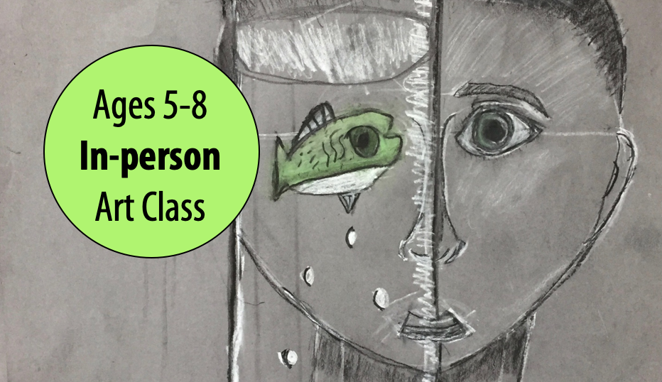 NEW! Masterpiece Mash-up – Kids Drawing w/Cathy Martin For Ages 5-8 (In-person)
