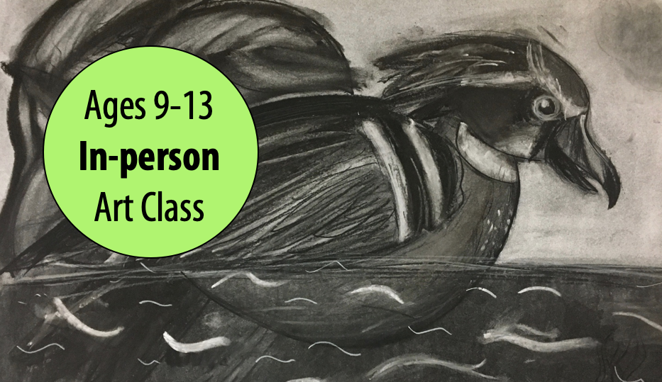 NEW! Getting Down To Fine Art – Drawing Essentials w/Lisa Granata For Ages 9-13 (In-person)