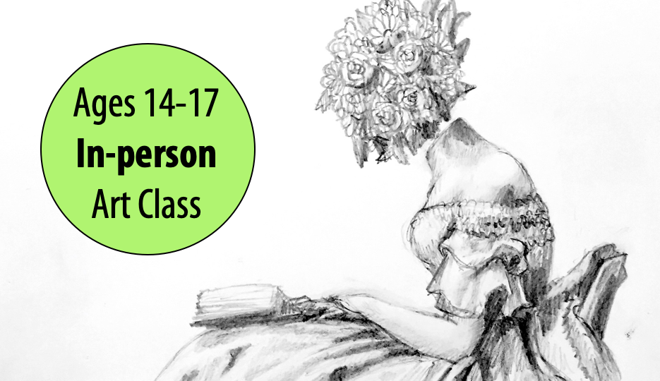 NEW! Artful Frame of Mind – Teen Art Studio w/ Lisa Granata For Ages 14-17 (In-person)