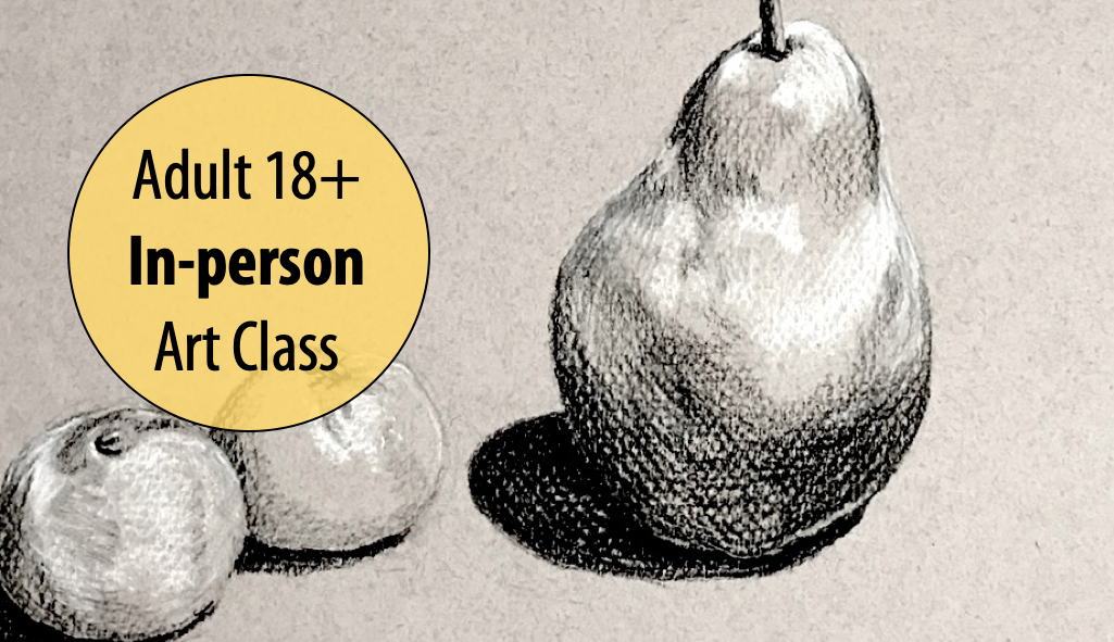 NEW! Blended by the Light – Beginner's Drawing w/Susan Bauer For Adults 18+ (In-person)