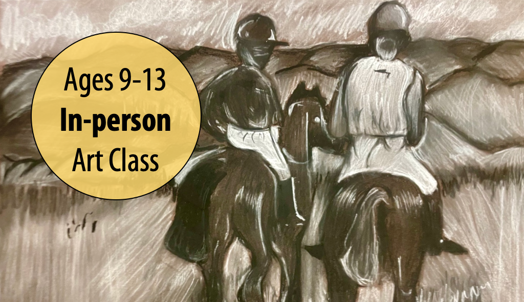 NEW! Get Your Artistic License! Drawing Dynamics w/Lisa Granata For Ages 9-13 (In-person)